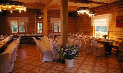 Dining Hall for organizing events